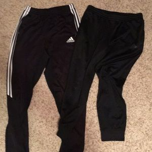 Bundle 2 Men's ADIDAS pants size L.